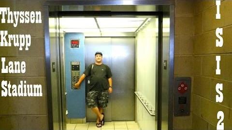 Thyssenkrupp ISIS 2 Elevator @ Lane Stadium Virginia Tech Blacksburg VA