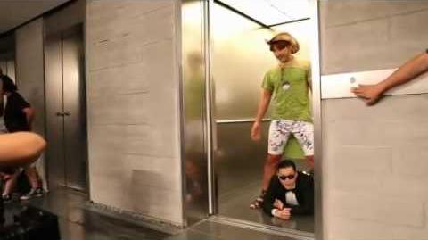 PSY 'Gangnam Style' BTS feat