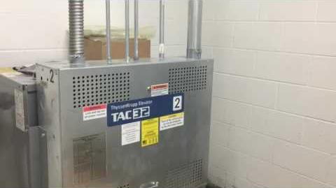 Signa 4 ThyssenKrupp Elevator TAC 32 Machine Room