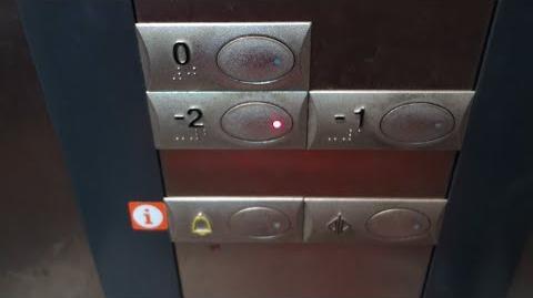 Orona MRL Elevators at a Parking Garage in Barcelona