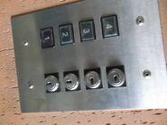 60s Black KONE buttons