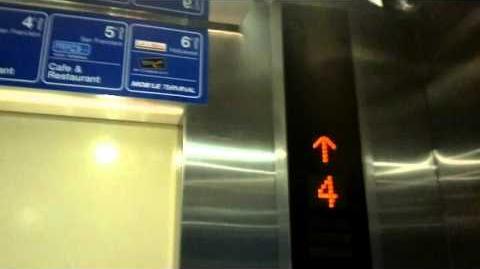 Terminal 21, Bangkok Brand New Mitsubishi Traction Interior Elevators - Retake 1