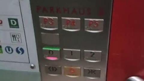 Rare Schindler Smart 002 elevators - Wien Mitte Mall & Train station - Vienna, AUS