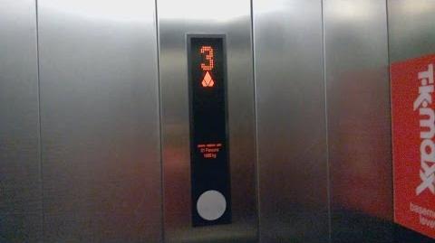 KONE MonoSpace 700 Lift @ Castle Mall, Norwich
