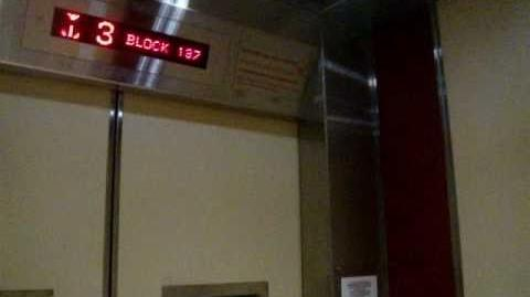 Blk 137 Bukit Batok Residental HDB - Fujitec Traction Elevator