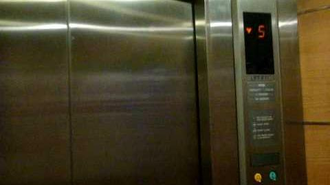 Burlington Square - Otis Traction Elevator
