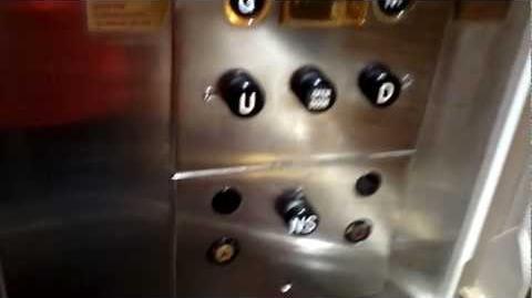 Montien Hotel Bangkok Old Otis Traction Elevators (South Wing)
