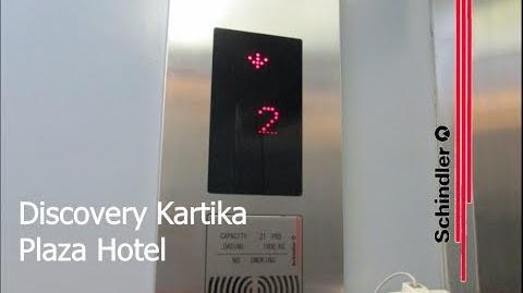Modernized Schindler Service Elevator at Discovery Kartika Plaza Hotel, Bali (Right Wing)