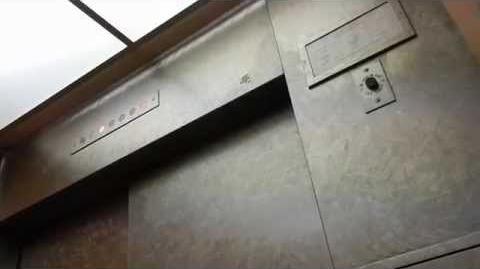 Vintage Otis Traction Elevators @ O'Connor Hospital in San Jose CA