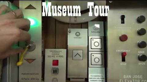 ElevaTOURS International Elevator Museum Tour May 2015 with special thanks