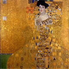 The original Portrait of Adele Bloch-Bauer.