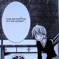 Yuka realizes Kouta has amnesia