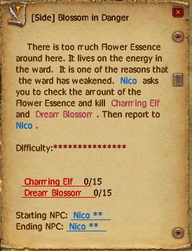 Blossom in danger