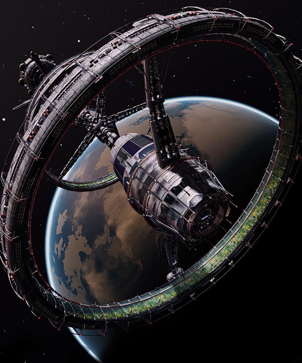 multiple torus space station - photo #23