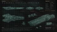 Farragut Fed. Battle Cruiser 1