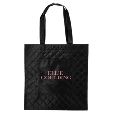 Quilted Logo Tote: £17.00