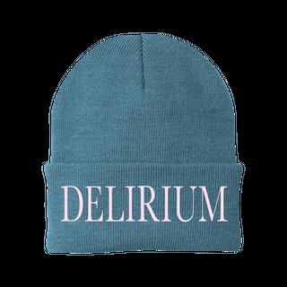Delirium Embroidered Beanie: £20.00