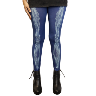 Skeleton Sublimated Leggings: £34.00