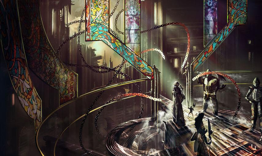 Magic Card Chains of Judgement!