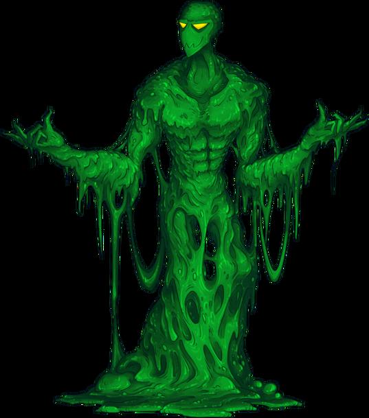 Slime monster by vrivs-d9wkstu