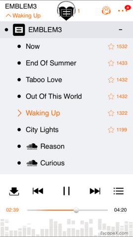 File:Emblem3 Waking Up EP tracklist.png