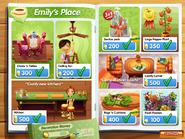 Emily's Place Decoration Catalog