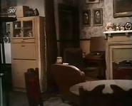 Emmie back room of old woolie 1974