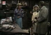 Emmie inside rose cottage 1973