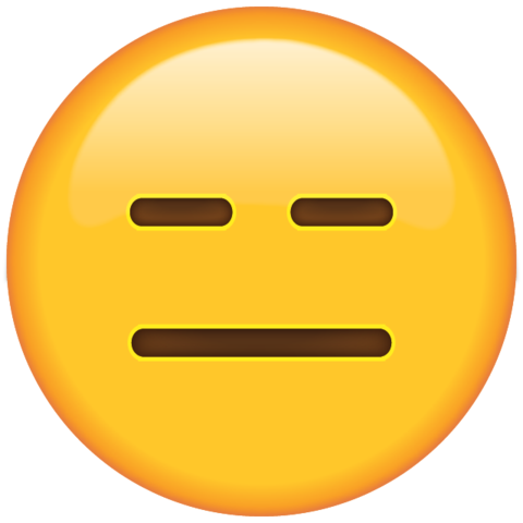 File:Expressionless Face Emoji large.png