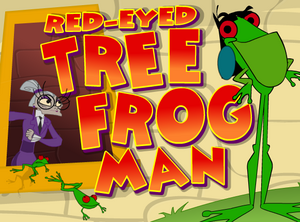 Red-Eyed Tree Frog Man
