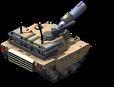 Abrams Tank Back