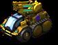 Blazing Bison Halftrack Artillery II