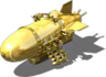 The Gold Voodoo Blimp Copter