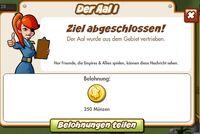 Der Aal I Belohnung (German Reward text)