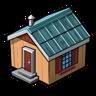 Goal Small Island Hut