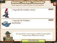 Besser, stärker, schneller (German Mission text)