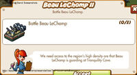 Beau LeChomp II Start