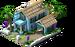 Large Blue Island Hut