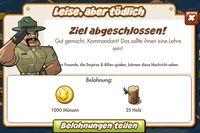 Leise aber tödlich Belohnung (German Mission reward)