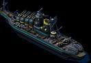 Shaman Battleship Back View