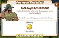 Das neue Zeitalter Belohnung (German Reward text)