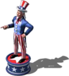 Uncle Sam Statue