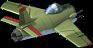 MiG 17 Fighter Back