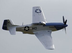 P51D Mustang in Fight