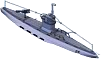 Submarine Gunboat Front