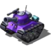 Sherman Tank Purple