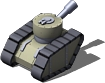 Armored Tank Back