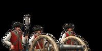 12-lber Foot Artillery