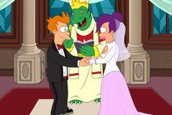 Futurama 726 wedding