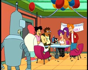 Futurama nibbler birthday